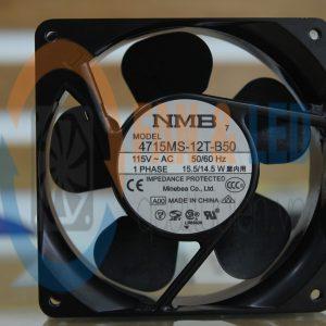 Quạt NMB 4715MS-12T-B50(11938MB-A1N-EA), 115VAC, 119x38mm