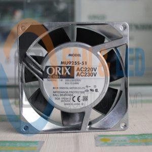 Quạt ORIX MU925S-51, 220VAC, 92x92x25mm
