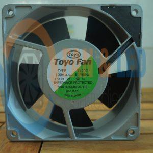 Quạt ToYo Fan T120C, 100VAC, 120x120x38mm