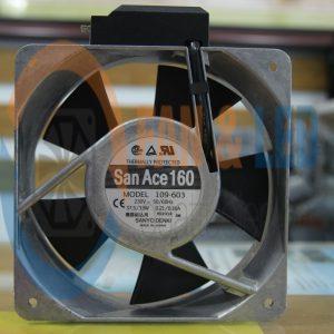 Quạt SANYO DENKI 109-603, 230VAC, 160x160x51mm