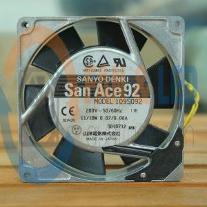 Quạt SANYO DENKI 109S092, 200VAC, 92x92x25mm