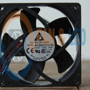 Quạt DELTA AFB0812VHD, 12VDC, 80x80x20mm