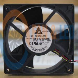 Quạt DELTA EFB1248SHE, 48VDC, 120x120x38mm