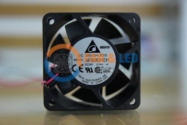 Quạt DELTA AFB0624EH, 24VDC, 60x60x25mm, 2 dây