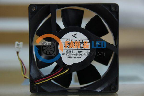Quạt MELCO MMF-09D24TS RM1, 24VDC, 92x92x25mm