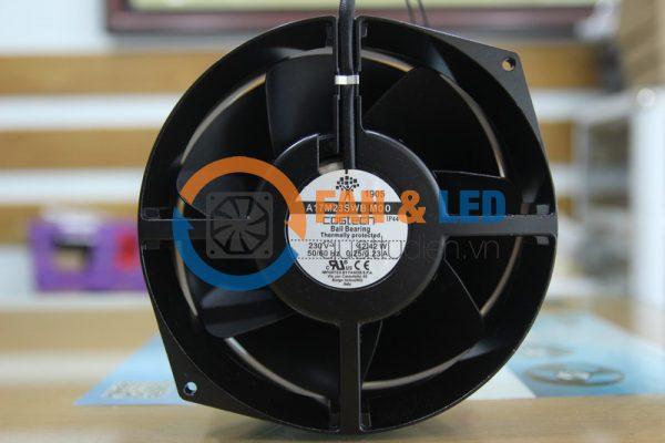 Quạt Costech A17M23SWB M00, 230VAC, 172x150x55mm