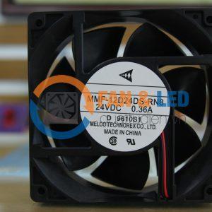 Quạt MELCO MMF-12D24DS-RN8, 24VDC, 120x120x38mm