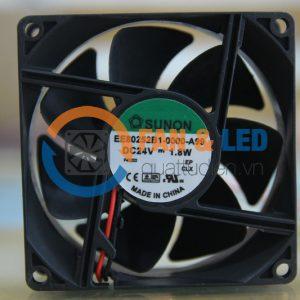 Quạt Sunon EE80252B1-0000-A99, 24VDC, 80x80x25mm