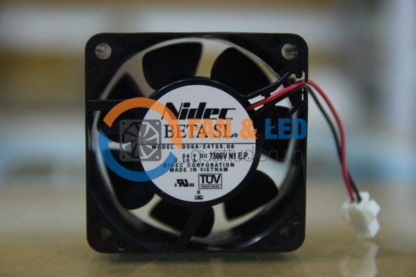 Quạt NIDEC D06A-24TS5 06, 24VDC, 60x60x25mm