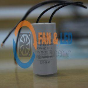 Tụ điện Dianz CBB60 1.5uF ±5%, 450VAC Dây cắm