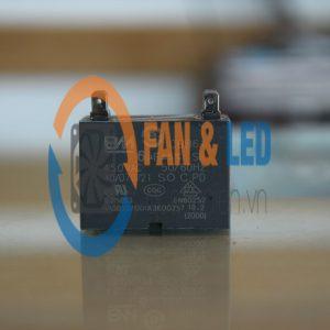 Tụ điện BM CBB61 4uF ±5%, 450VAC Giắc cắm